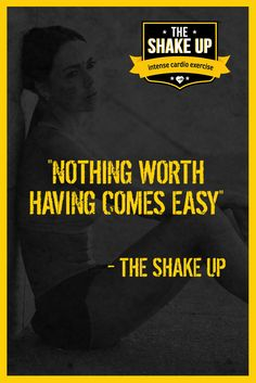 Unfortunate I know.  But it is true and really would it be as good if it was easy?  I don't think so somehow… #health #fitness http://theshakeup.com.au/
