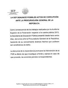I'm reading Comunicado Sep Corrupcion on Scribd