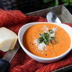 Tuscan Tomato Basil Bisque Recipe via @SparkPeople