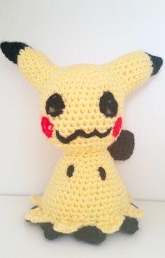 LWC Crochet Pokemon Inspired Mimikyu Plush by LittleWishCafe on Etsy https://www.etsy.com/listing/465990235/lwc-crochet-pokemon-inspired-mimikyu
