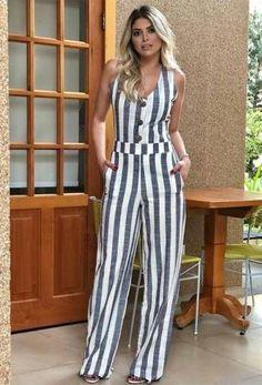 Macacão Botões Frente - Daluky. Luca Garofalo · Outfit Dressing Donna 37eeef5470c