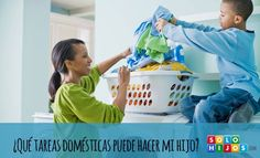 ¿Qué tareas domésticas puede hacer mi hijo?