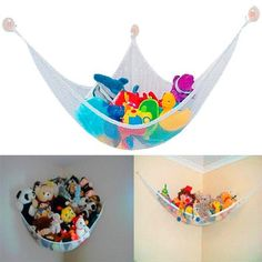Temperate New Hanging Organizer Kids Toy Storage Net Stuffed Plush Doll Hammock Save Space Handsome Appearance Activity & Gear Bouncers,jumpers & Swings