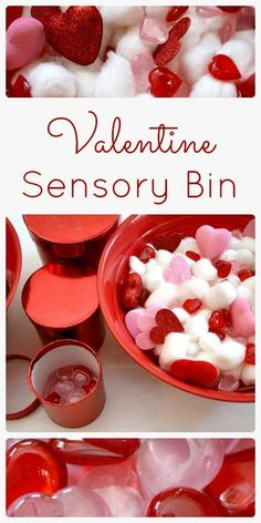 Valentine Sensory Bin and Learning Activities   Fantastic Fun and Learning