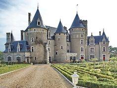 Chateau de bois Morand situé sur la commune d'Atigny, département de la Vienne en région Poitou-Charentes,