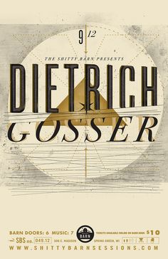 Shitty Barn Session No. 49 - Dietrich Gosser (by EFG!)