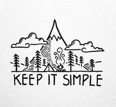 "Great Instagram for ""keep it simple"" graphics"