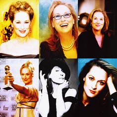 "Acting is not about being someone different. It's finding the similarity in what is apparently different, then finding myself in there,"" - Meryl Streep."