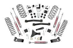 Rough Country - 698.20 - 4-inch Suspension Lift System w/...