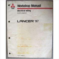 Mitsubishi Lancer 97 Electrical Wiring Manual PHME9107-F