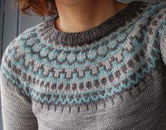 Nydelig genser i helt mine farger!