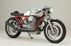 Cafe Racer Special: #MotoGuzzi Kaffee-Maschine by Gustav Larsson
