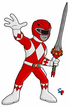 The Red Ranger Even though I was pretty much too old for Power Rangers when they came along, I do have fond mem. Power Rangers Samurai, Power Rangers Dino, Power Rangers Ninja Steel, Mighty Morphin Power Rangers, Power Rangers Cartoon, Power Ranger Party, Power Ranger Birthday, Power Ranger Cake, Power Rangers Pictures