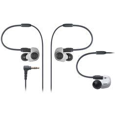 Audio Technica ATH-IM50 Inner Ear Headphones - White
