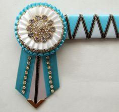 Gorgeous ribbon browband!