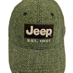8f9e36debb635 Est 1941 Tweed Jeep Olive Cap Jeep Wrangler Clothing