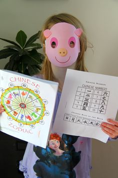 Here are 8 FREE Chinese New Year printables for kids.