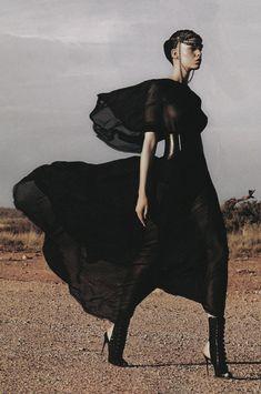 Marleen Gaasbeek by Simon Upton for Harper's Bazaar Australia