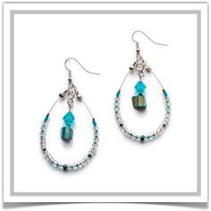 "One-of-a-Kind ""Anastasia"" Earrings - Designed by Belle Bijou:  http://www.bellebijoujewelry.com/store/detail/index.html#cid=48426"
