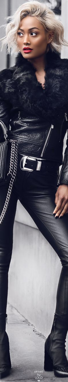 Micah Gianneli Street Chic Leather
