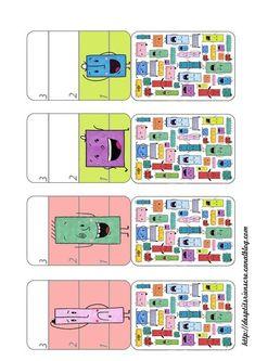 p'tite bataille à imprimer 2b Busy Bags, Album, Board Games, Diy And Crafts, Activities, Education, Maths, File Folder, Recherche Google