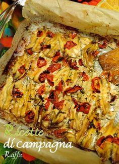 Le alici al forno con pomodoro e origano, un secondo piatto di pesce azzurro semplice, economico e buono.