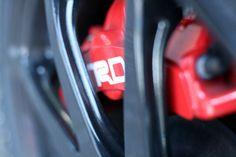 TRD rode remklauw