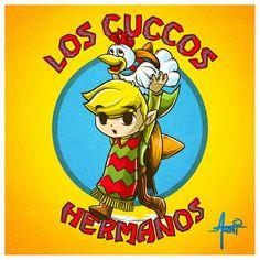 Los Cuccos Hermanos - Created by Alberto Arni Artist's Shop | Facebook | Twitter
