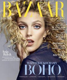 Anja Rubik Covers Harper's Bazaar Poland June 2015