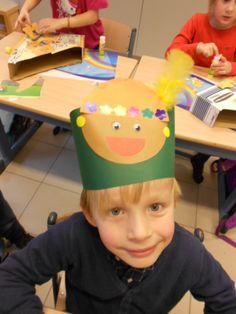 hoed met zwarte piet