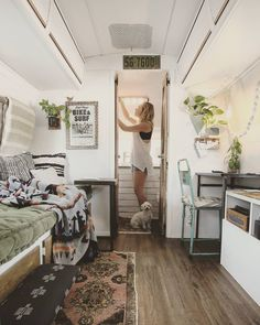 "3,003 Likes, 47 Comments - Airstream Life & Travels (@mavistheairstream) on Instagram: ""Living in 200 square feet has taught us that you don't need a big house to be happy. We have…"""