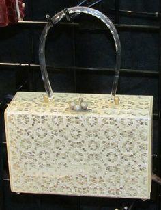 #Vintage #Lucite bag  #PierAntiqueShow