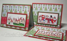 Festive Holiday Lineup by Harley Queen - Cards and Paper Crafts at Splitcoaststampers