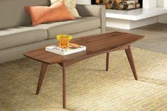 Room & Board Ventura Cocktail Table 54x20 16h $599 cherry $799 walnut