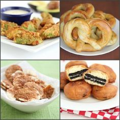 Can't wait until the DBTRAF to get your fix of fried festival food? These recipes will hold you over until the arts festival!