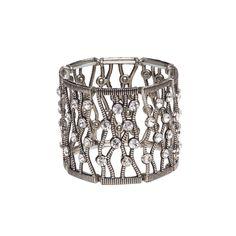 I love the Mocha Wavy Crystal Bracelet from LittleBlackBag