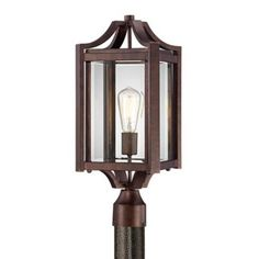 """Rockford Collection 20 1/4"""" High Bronze Outdoor Post Light -"""