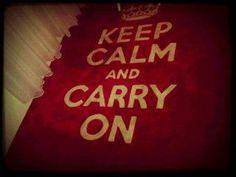 keep calm keep calm