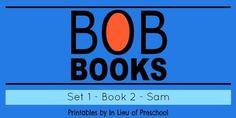BOB Books Printables: Set 1, Book 2 SAM