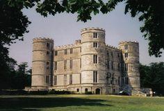 Lulworth Castle, Dorset, England. ►► http://www.castlesworldwide.net/castles-of-england/dorset/lulworth-castle.html?i=p
