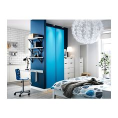 PAX Wardrobe - standard hinges, 100x60x236 cm - IKEA