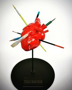 the artist heart... #heart #humanheart #teodosio #artist #artistheart #theartistheart #greekartist #greece