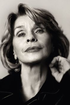 Senta Berger by Vogue