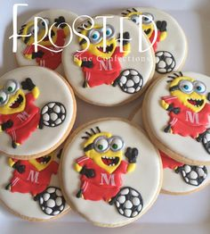Minion Soccer by Frosted