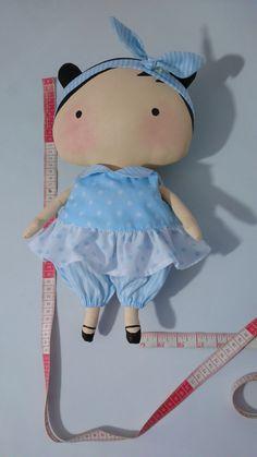 Tilda Toy Bebé, de tela hecha a mano