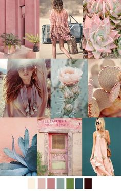 S/S 2017 colors & patterns trends: SAHARA ROSE:
