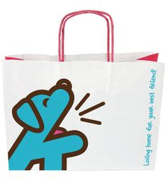 Barks & Whiskers // s Pet Boutique, Your Best Friend, Paper Shopping Bag, Toronto, Canada, Cats, Design, Gatos, Cat
