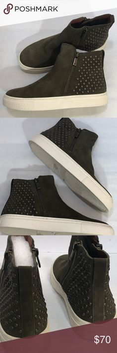 NIB Lucky Brand Bayleah 3 Suede sneaker size 7 Brand New with Box Lucky  Brand Bayleah 3 Women's High top Casual fashion sneaker.