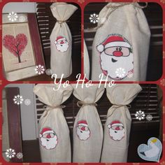 Bottle Bags - pinned by pin4etsy.com