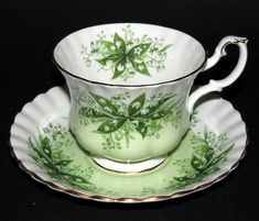 Royal Albert Concerto Teacup and Saucer